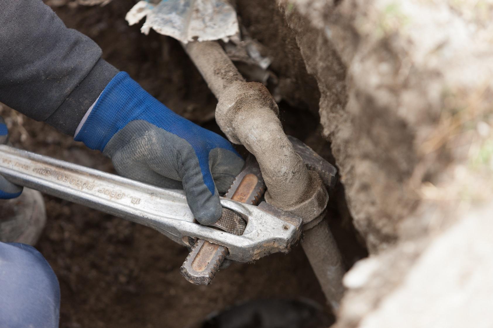 漏水工事の流れ