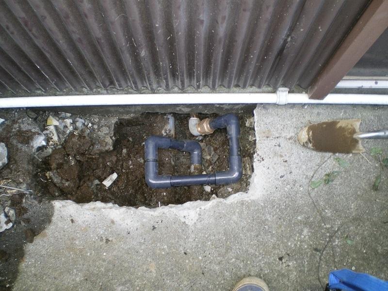 漏水修繕後